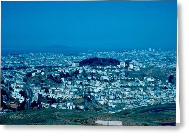 San Francisco 3 1955 Greeting Card by Cumberland Warden