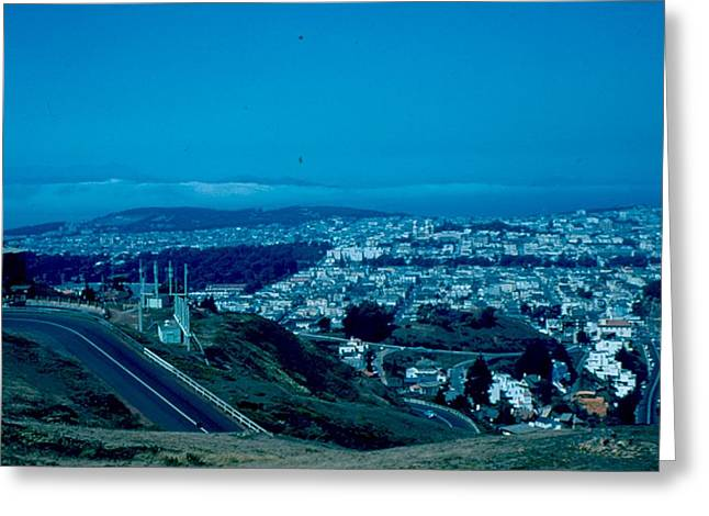 San Francisco 4 1955 Greeting Card by Cumberland Warden