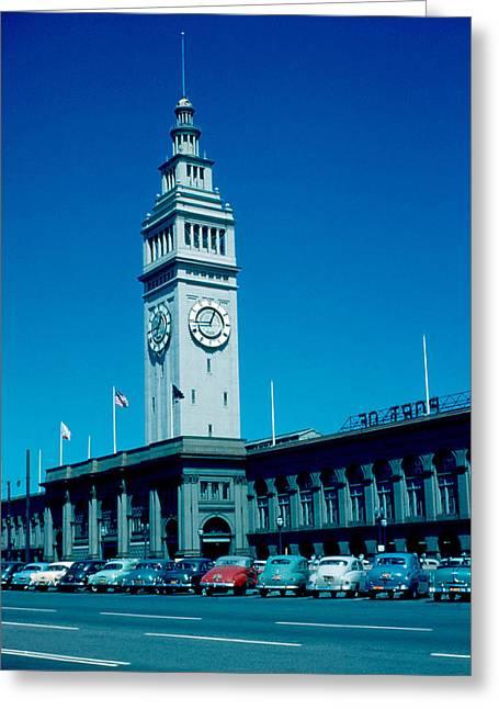 San Francisco 5 1955 Greeting Card by Cumberland Warden