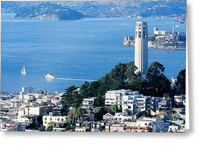 San Francisco Ca Greeting Card by Panoramic Images