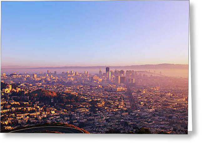 San Francisco, California Greeting Card by Panoramic Images