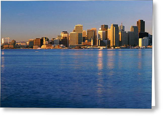 San Francisco, California Skyline Greeting Card by Panoramic Images