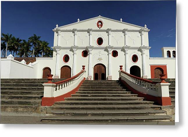 San Francisco Church On The Colonial Greeting Card by Panoramic Images