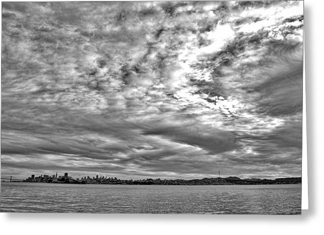 San Francisco Clouds Greeting Card