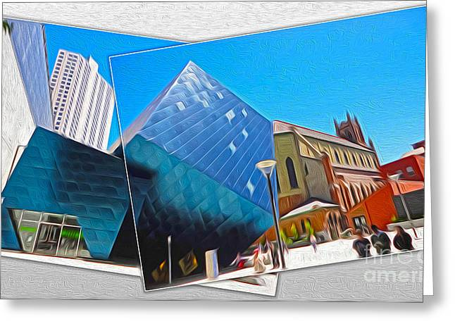San Francisco - Contemporary Jewish Museum - 01 Greeting Card by Gregory Dyer