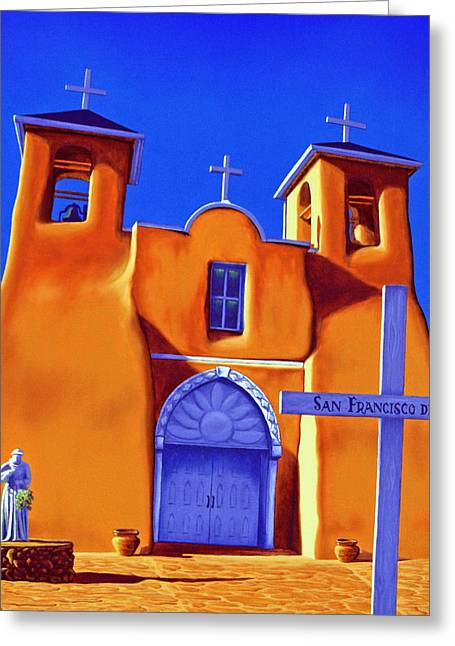 San Francisco De Asis Greeting Card