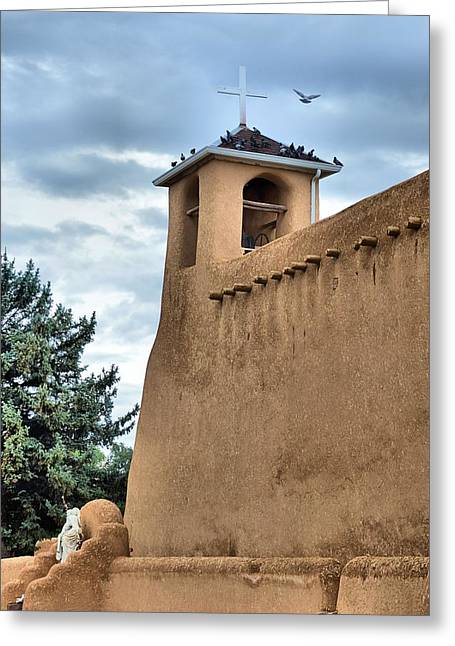 San Francisco De Asis Mission Greeting Card