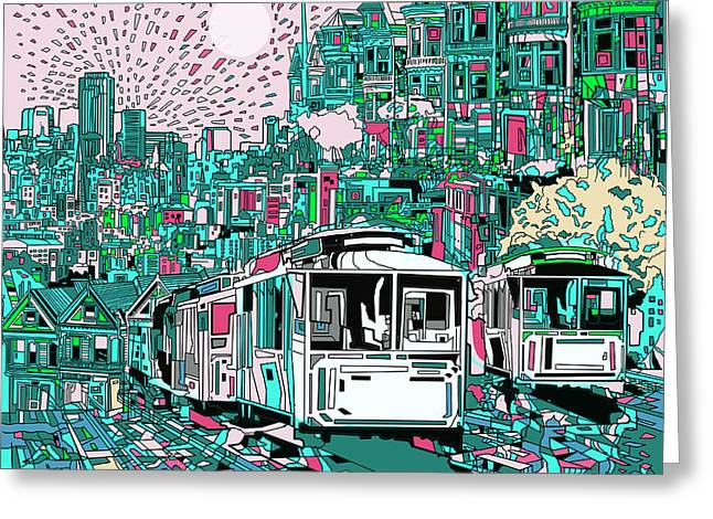 San Francisco Dream Greeting Card