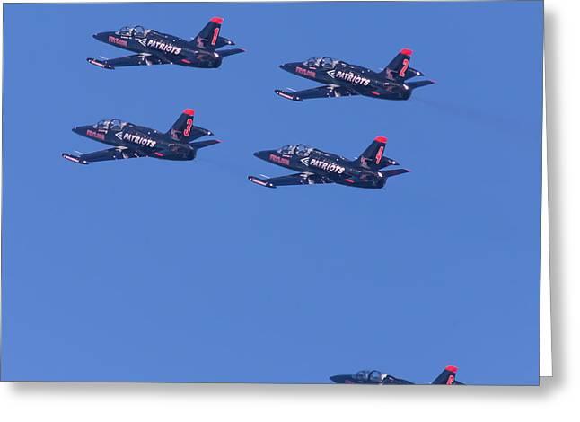 San Francisco Fleet Week Patriots Jet Team 5d29514 Greeting Card