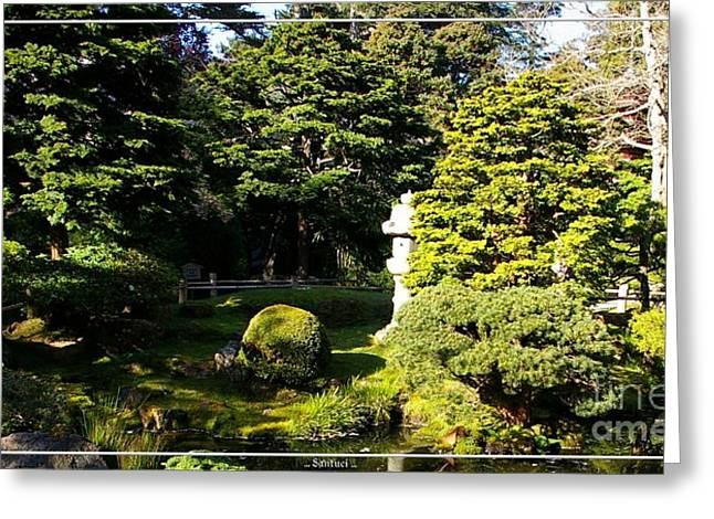 San Francisco Golden Gate Park Japanese Tea Garden 1 Greeting Card by Robert Santuci