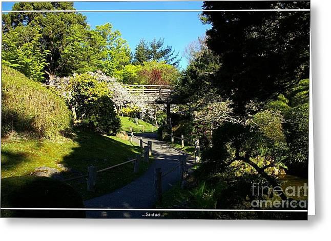San Francisco Golden Gate Park Japanese Tea Garden 7 Greeting Card by Robert Santuci