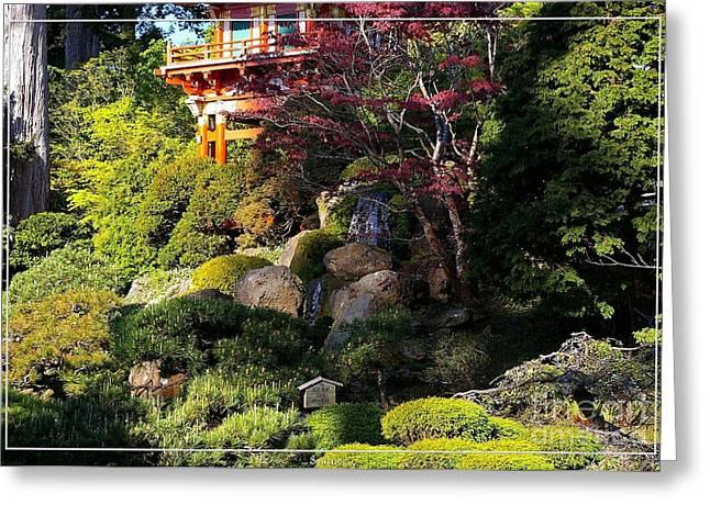 San Francisco Golden Gate Park Japanese Tea Garden 9 Greeting Card by Robert Santuci