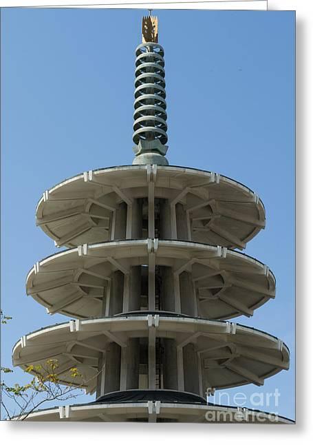 San Francisco Japantown Pagoda Dsc994 Greeting Card