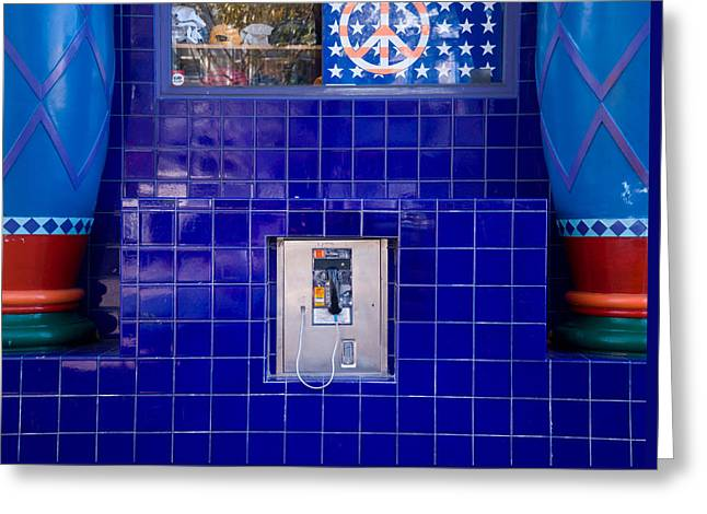 San Francisco Pay Phone Greeting Card