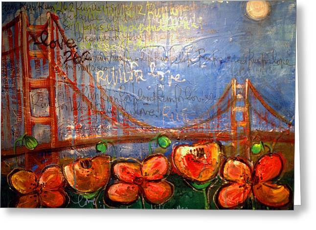 San Francisco Poppies For Lls Greeting Card