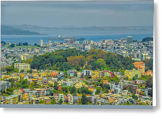 San Francisco - Scenic Cityscape Greeting Card