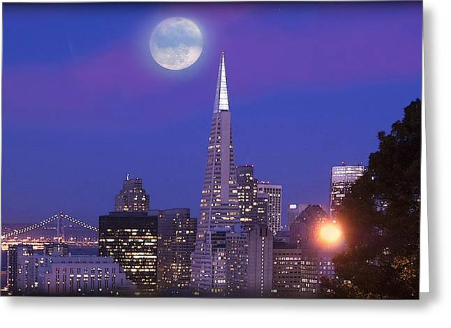San Francisco - A Golden Handcuff Greeting Card
