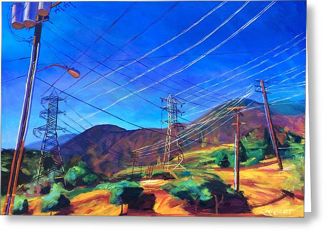 San Gabriel Power Greeting Card
