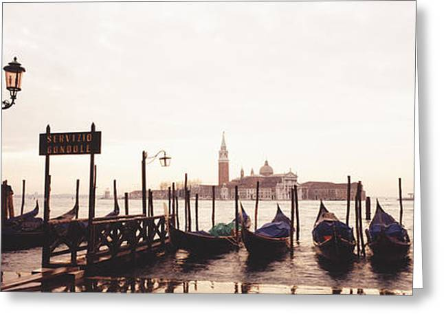 San Giorgio Venice Italy Greeting Card by Panoramic Images