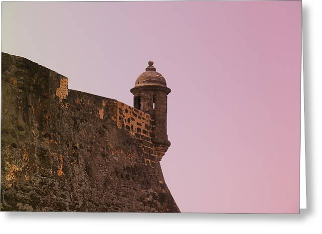 San Juan - City Lookout Post Greeting Card by Richard Reeve
