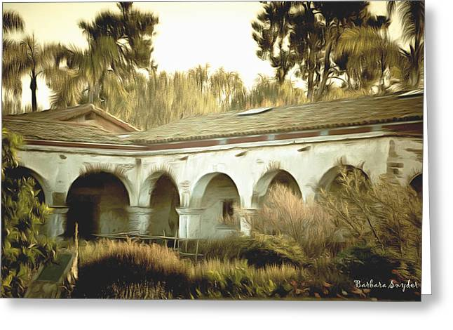 San Juan Capistrano California Greeting Card
