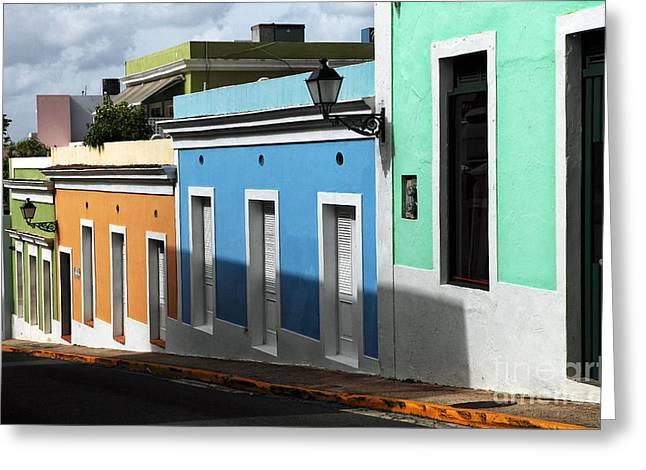 San Juan Colors Greeting Card