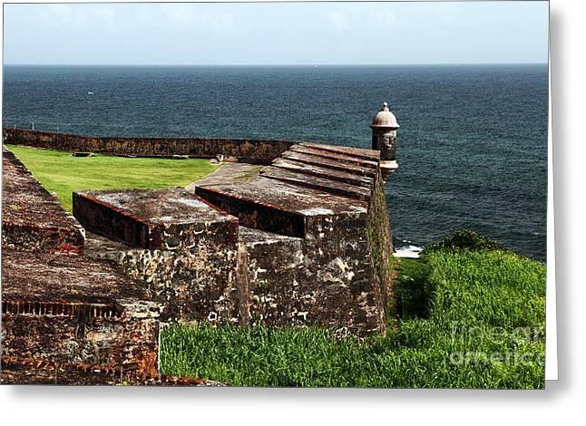 San Juan Lookout Greeting Card