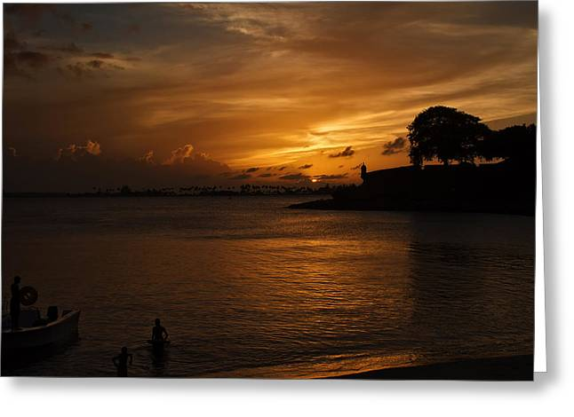 San Juan Greeting Card by Mario Celzner