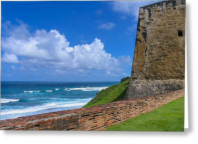 San Juan Puerto Rico  Greeting Card