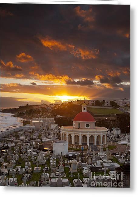 San Juan Sunrise Greeting Card by Brian Jannsen