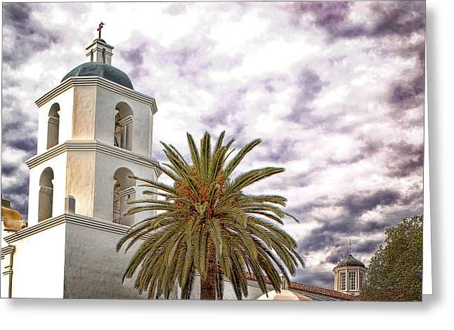San Luis Rey Mission Greeting Card