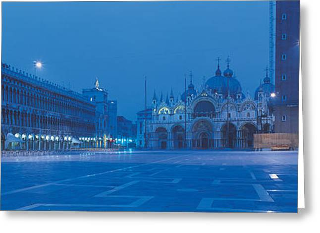 San Marco Square Venice Italy Greeting Card