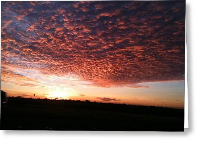 San Marcos Sunrise Greeting Card by David  Norman