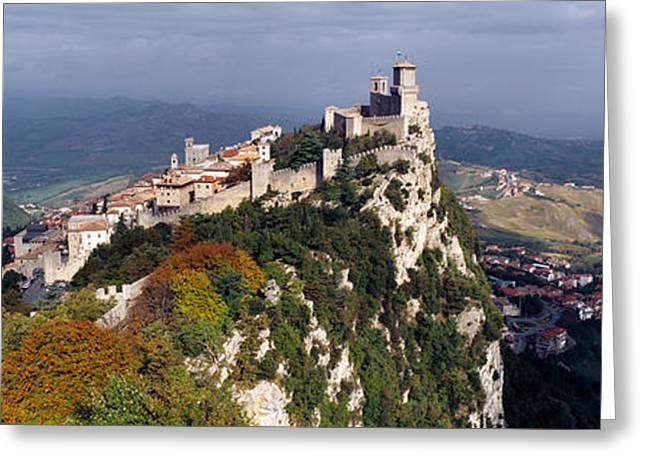 San Marino Greeting Card by Panoramic Images