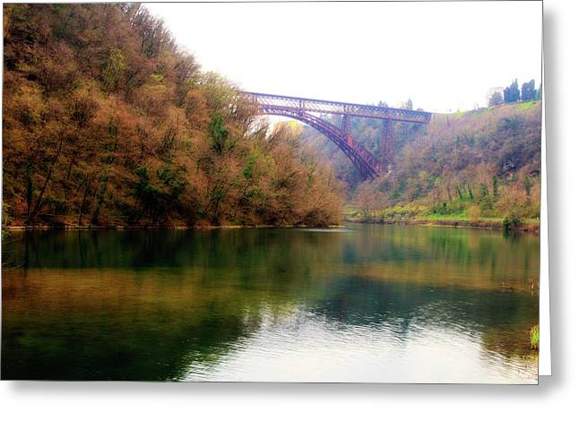 San Michele Bridge N.1 Greeting Card