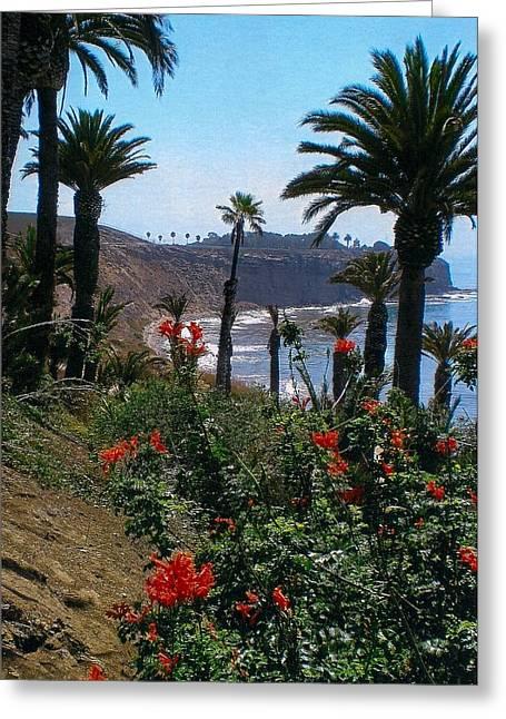 San Pedro Coast Line Greeting Card