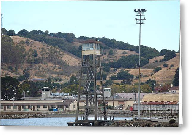 San Quentin Prison In Marin County California 5d29357 Greeting Card by Wingsdomain Art and Photography