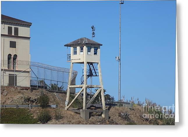 San Quentin Prison In Marin County California 5d29481 Greeting Card by Wingsdomain Art and Photography