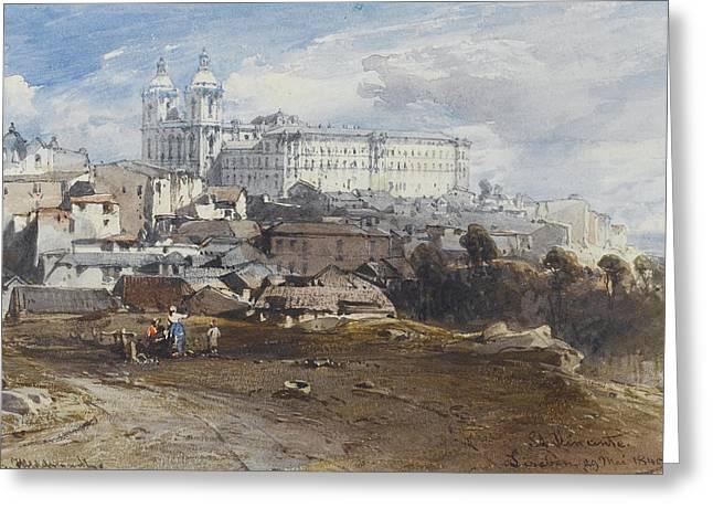 San Vicente. Lisbon Greeting Card