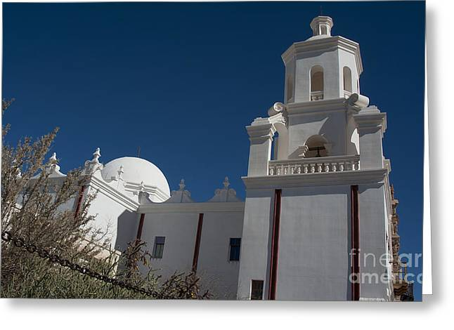 San Xavier Del Bac #1 Greeting Card by Lee Craig