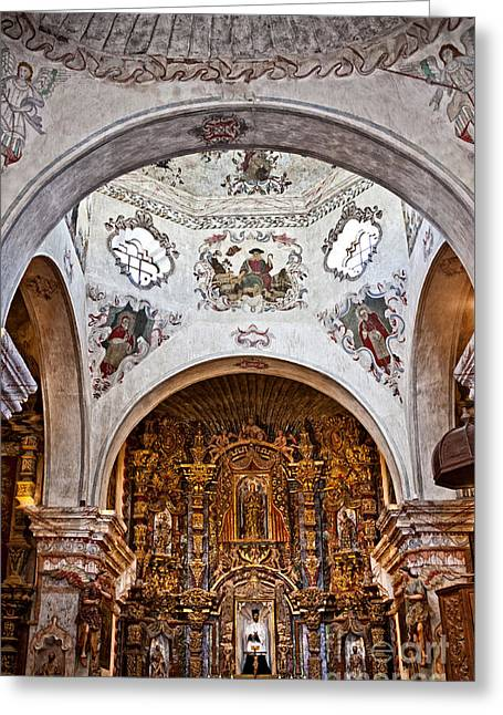 San Xavier Del Bac #11 Greeting Card by Lee Craig