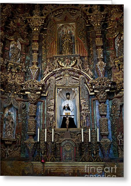 San Xavier Del Bac #13 Greeting Card by Lee Craig