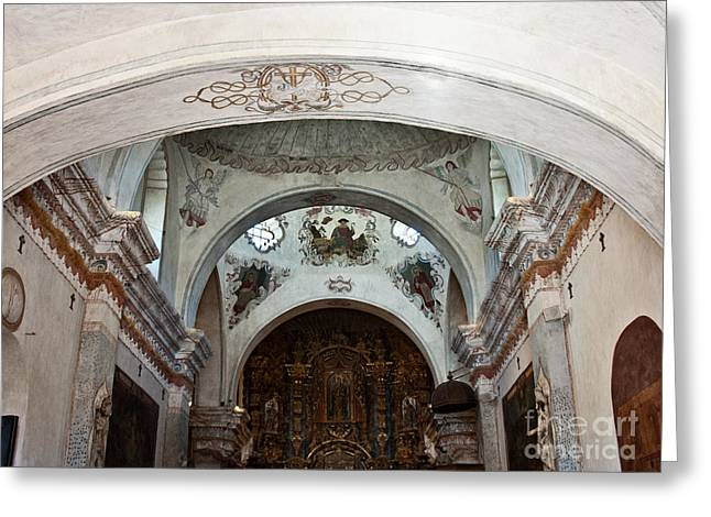 San Xavier Del Bac #15 Greeting Card by Lee Craig