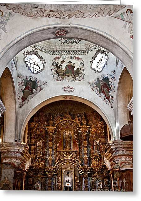 San Xavier Del Bac #17 Greeting Card by Lee Craig
