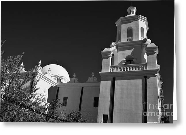 San Xavier Del Bac #2 Greeting Card by Lee Craig