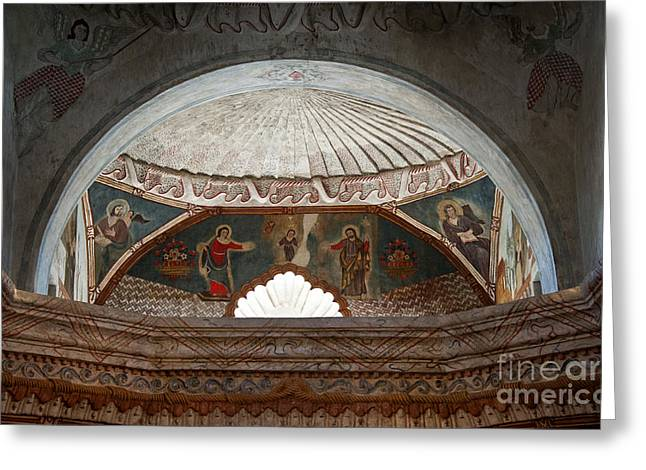 San Xavier Del Bac #21 Greeting Card by Lee Craig