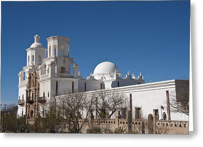 San Xavier Del Bac #3 Greeting Card by Lee Craig
