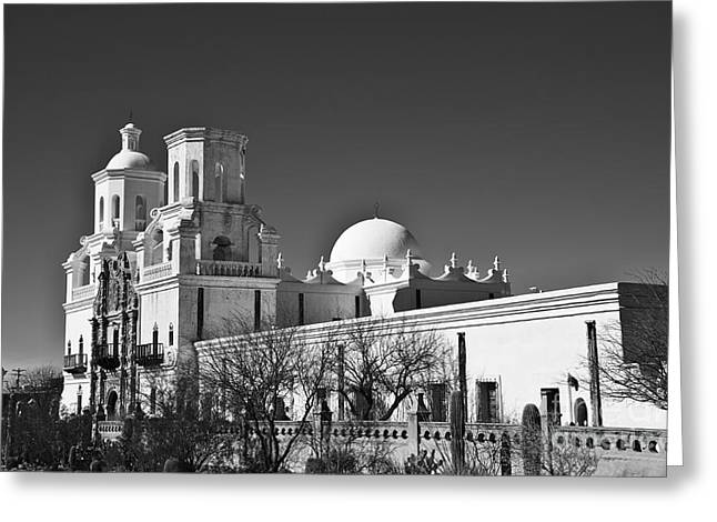 San Xavier Del Bac #4 Greeting Card by Lee Craig