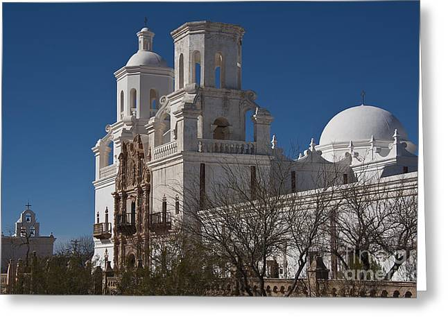 San Xavier Del Bac #5 Greeting Card by Lee Craig