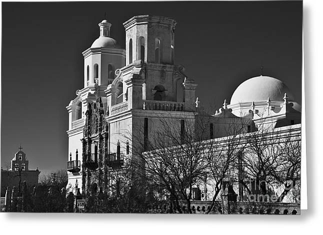 San Xavier Del Bac #6 Greeting Card by Lee Craig